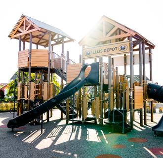 playground at Ellis