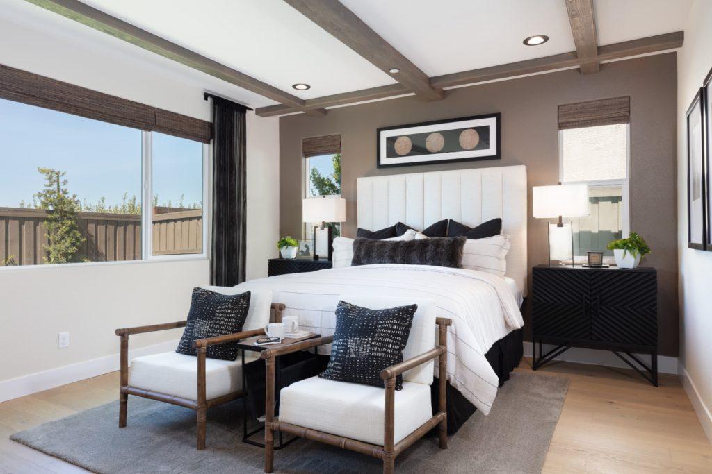 Bedroom of Berkshire Plan 4 at Ellis in Tracy, CA