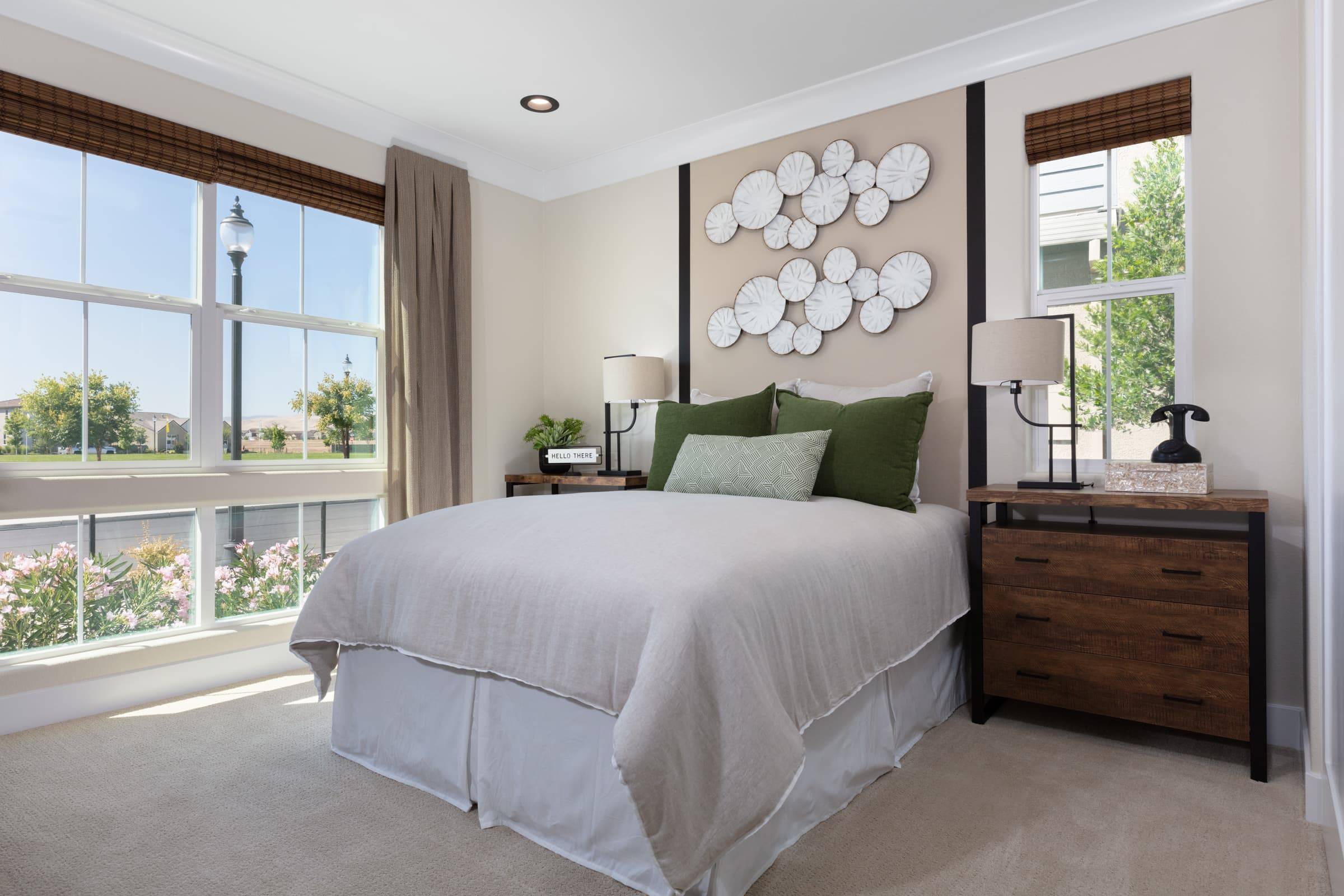 Bedroom of Zephyr Plan 3 at Ellis in Tracy, CA