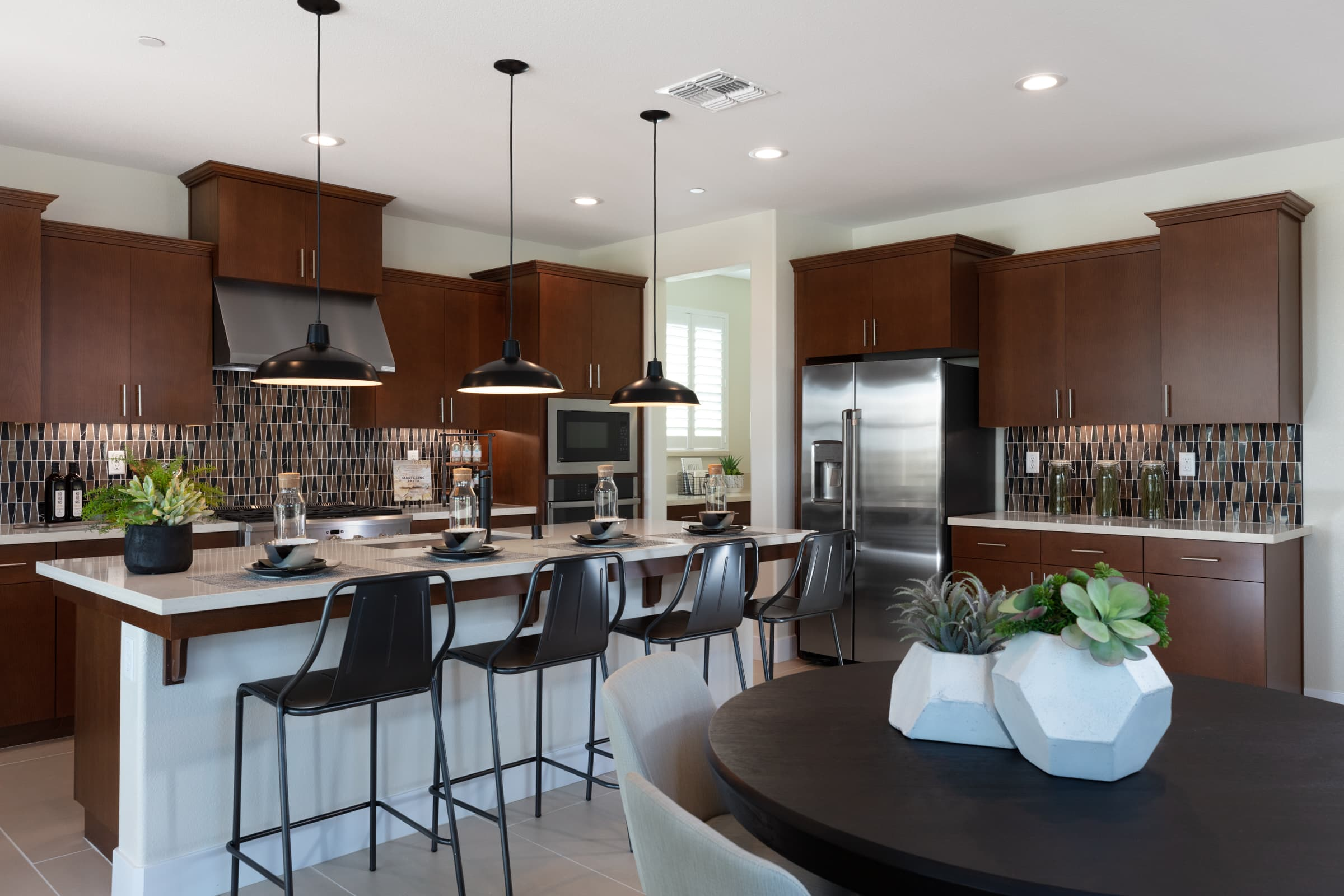 Kitchen of Berkshire Plan 3 at Ellis in Tracy, CA