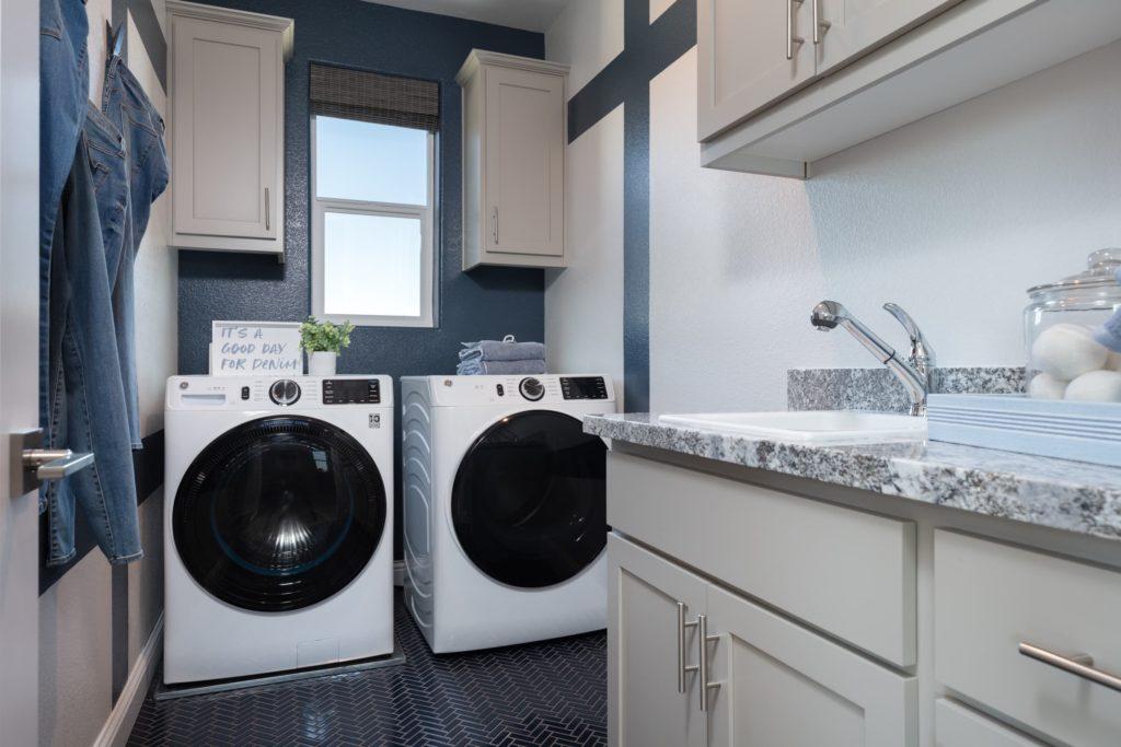 Zephyr by Woodside Homes at Ellis - Plan 4 Laundry Room