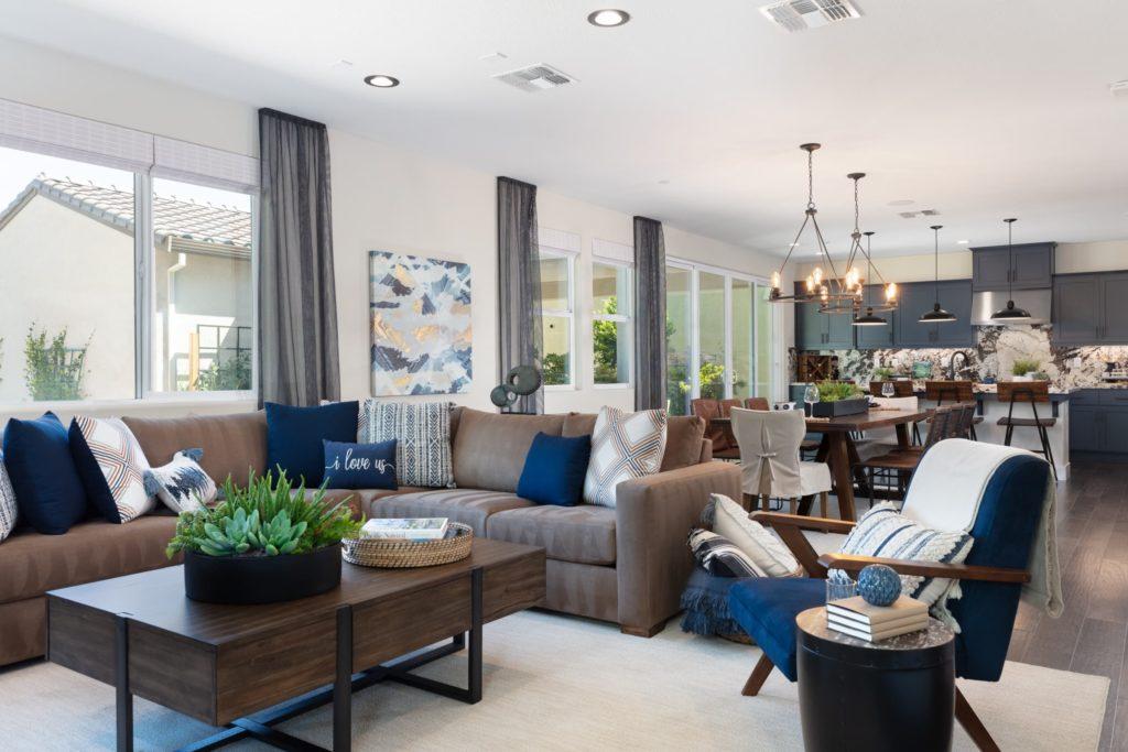 Stanford by Woodside Homes at Ellis - Plan 2 Living Room