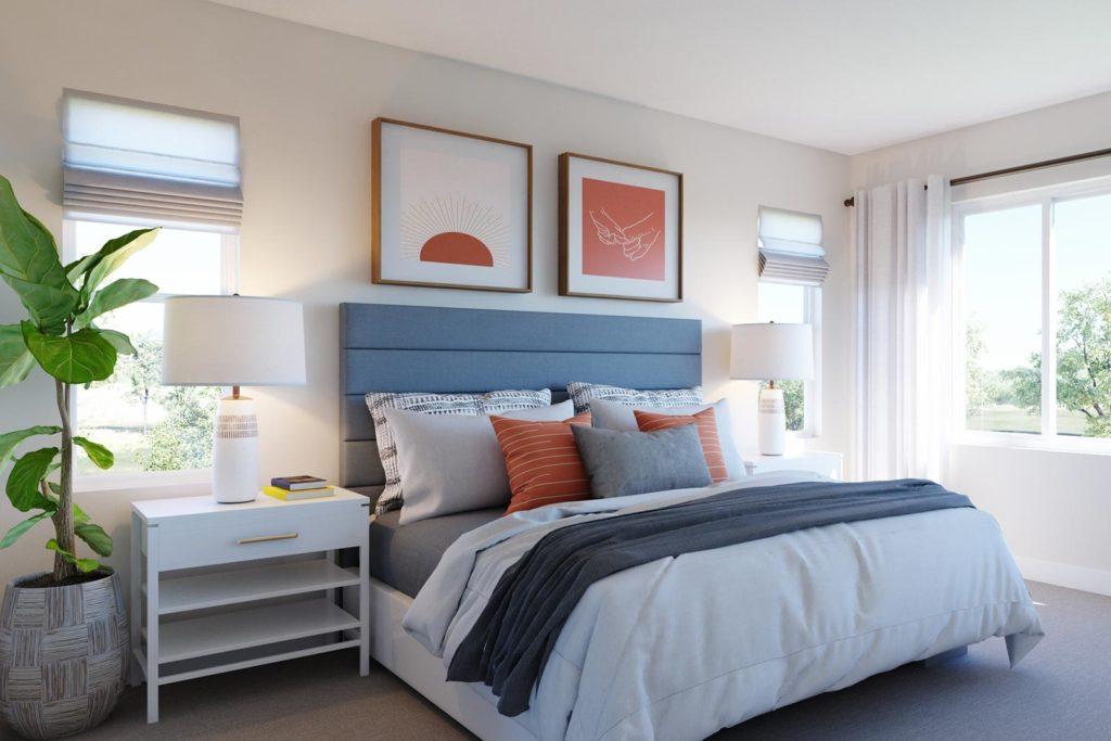 Primary Bedroom in Plan 5 - Kinbridge at Ellis in Tracy, CA
